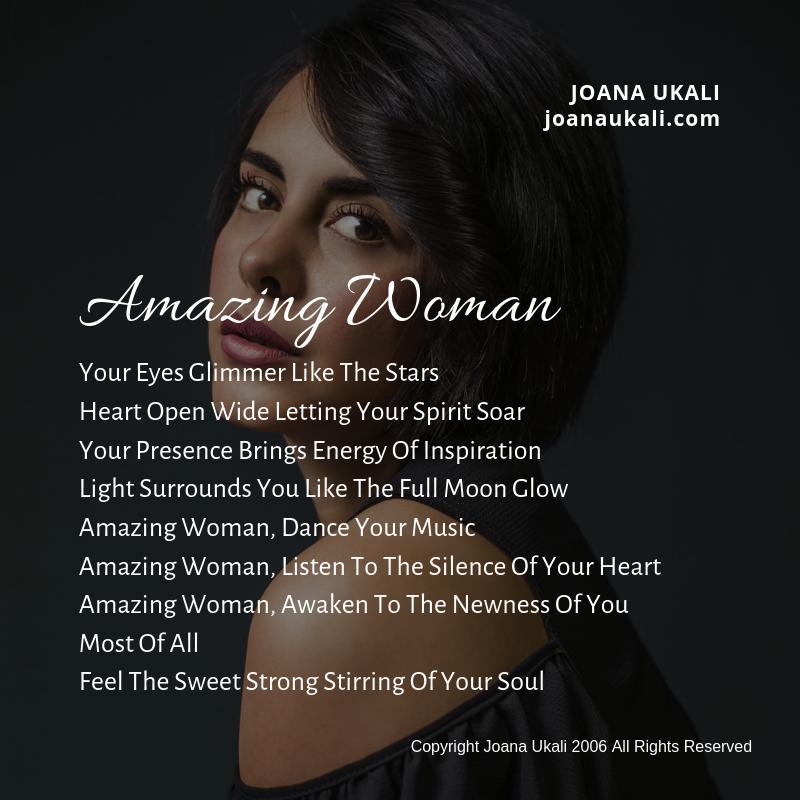 Amazing Woman